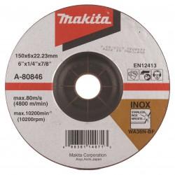 Metalo šlifavimo diskas MAKITA 150x6 RST (Inox)