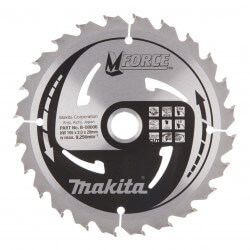 Pjovimo diskas MAKITA M-Force 165x20x2,0mm 24T 15°