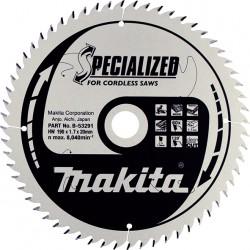 Pjovimo diskas MAKITA B-53291 190x20x1,7mm