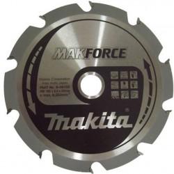 Pjovimo diskas MAKITA 165x20x2,0mm 10T MAKForce
