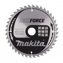 Pjovimo diskas MAKITA M-Force 210x30x2,4mm 40T 20°