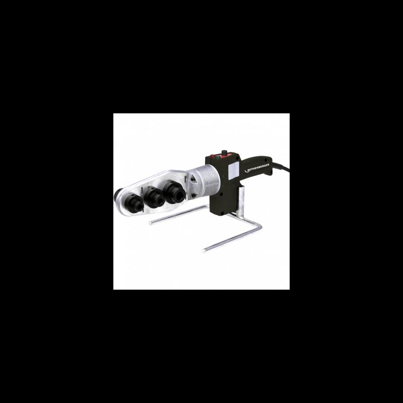 PE, PB, PP ir PVDF plastiko vamzdžių virinimo aparatas ROTHENBERGER ROWELD® P63 S-6
