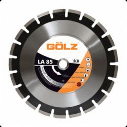Deimantinis diskas asfaltui GOLZ LA85 Ø400x25,4