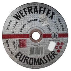 Akmens pjovimo diskas WEFRA SN24n 178x3x22mm