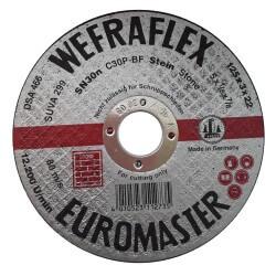 Akmens pjovimo diskas WEFRA SN24n 125x3x22mm