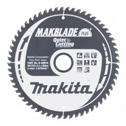 Pjovimo diskas MAKITA Makblade+ 216x30x2,1mm 60T 5°