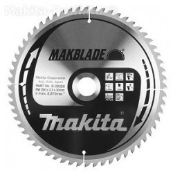 Pjovimo diskas MAKITA Makblade 305x30x2,6mm 60T 10°