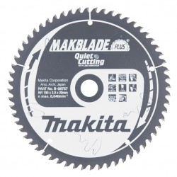 Pjovimo diskas MAKITA Makblade+ 190x20x2,0mm 60T 5°
