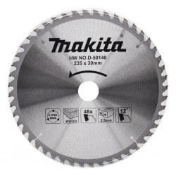 Pjovimo diskas MAKITA 235x30x2,5mm 48T 12°