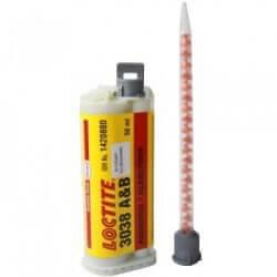 3038 dviejų komponentų momentiniai klijai 50 ml LOCTITE