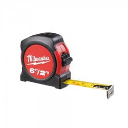 Nemagnetinė ruletė MILWAUKEE 2m