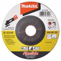 Šlifavimo diskas MAKITA RST (INOX) 125x4,0 mm