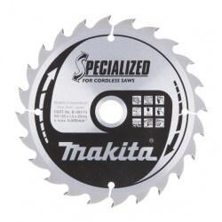 Pjovimo diskas 165x20x1,5mm 24T 20° MAKITA