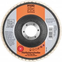 Kietas poliravimo diskas PFERD FFS 125/22,23 H