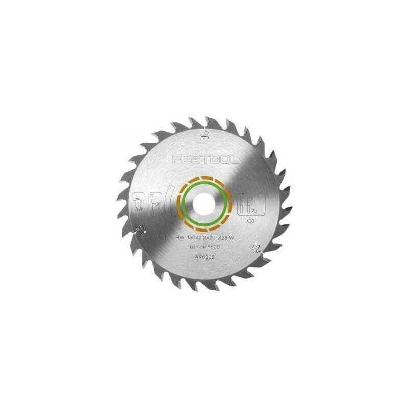 Universalus pjūklo diskas 160x2,2x20 W28 FESTOOL