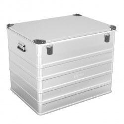 Aliuminė dėžė su spyna ALPOS ALU D240
