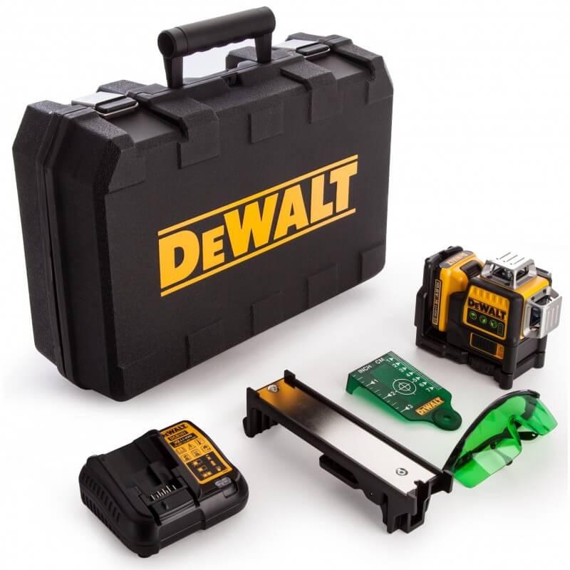 Lazerinis nivelyras DeWALT DCE089D1G 10,8V