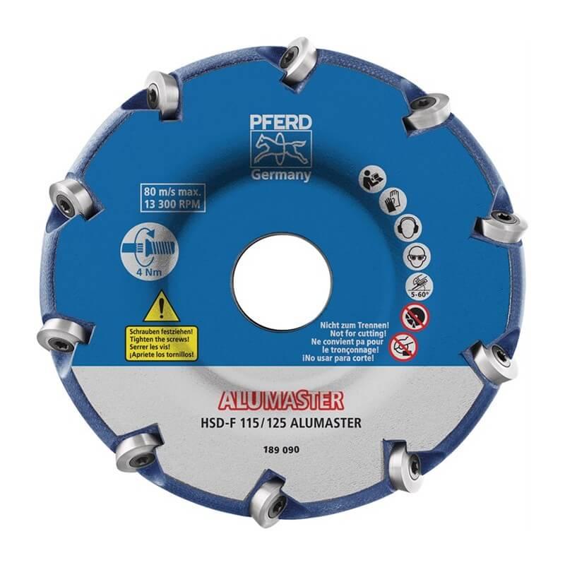 Šlifavimo diskas PFERD HSD-F 115/125 ALUMASTER