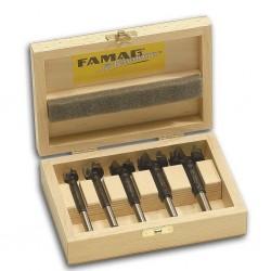 Medžio grąžtų rinkinys FAMAG Bormax, 5-ių dalių