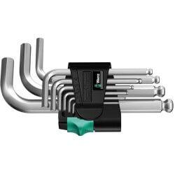 Šešiakampių raktų rinkinys WERA 950 PKS/9 SM N