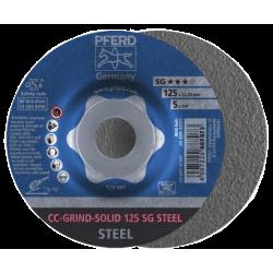 Šlifavimo diskas PFERD CC-GRIND-SOLID 125 SG-STEEL