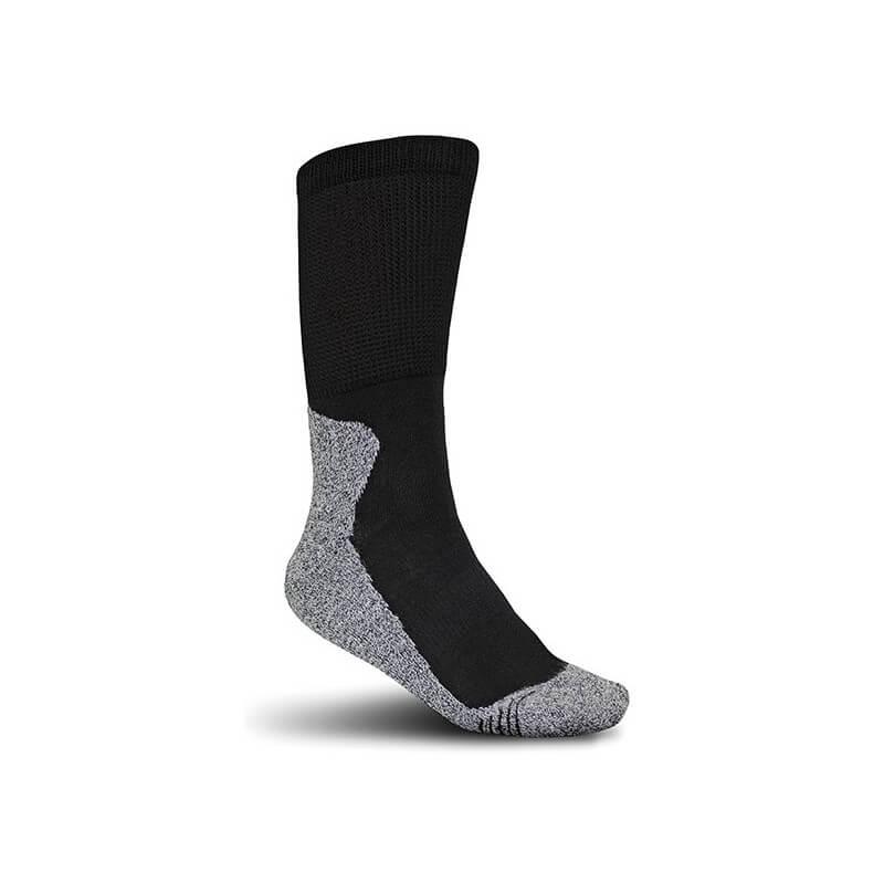 Kojinės ELTEN Perfect Fit, juoda/pilka