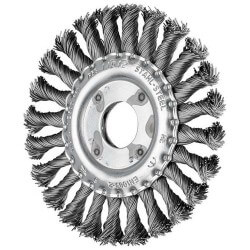 Metalinis šepetys PFERD RBG 125x12x22,2mm ST 0,50