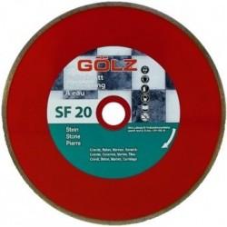 Deimantinis diskas keramikai GOLZ SF20
