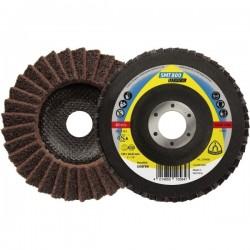 Vidutinio grubumo veltinio šlifavimo diskas KLINGSPOR SMT800 125x22,23mm