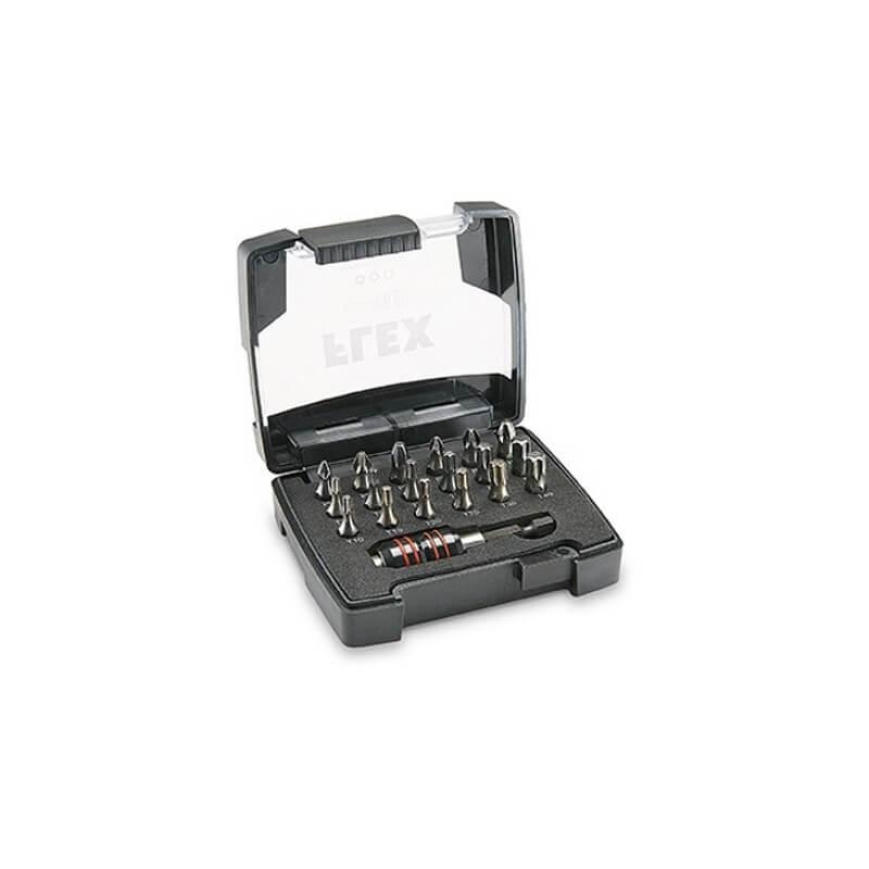 Sukimo antgalių rinkinys FLEX DB T-Box, 18-os dalių