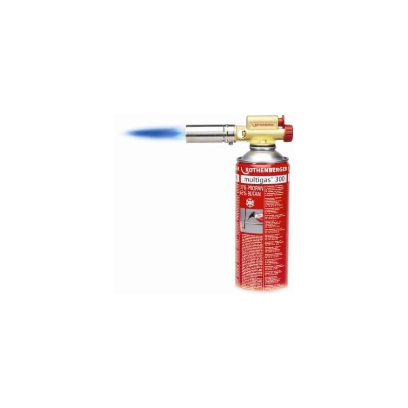 Degiklis EASY FIRE su MULTIGAS300 dujomis ROTHENBERGER