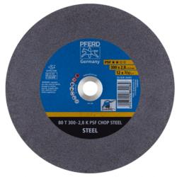 Metalo pjovimo diskas PFERD 80 T300-2,8 A36 K PSF CHOP/25,4