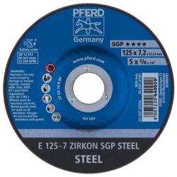 Šlifavimo diskas PFERD E125-7 ZA 24 R SGP
