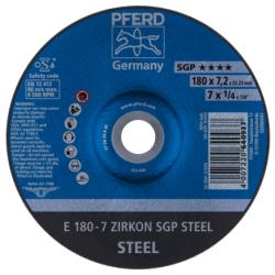Šlifavimo diskas PFERD E180-7 ZA 24 R SGP