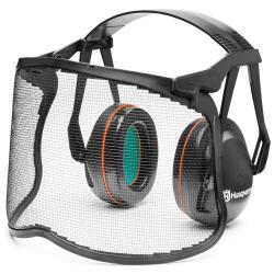 Apsauginės ausinės su tinkliniu skydeliu HUSQVARNA