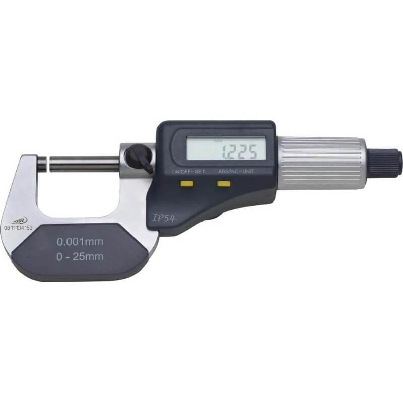 Elektroninis mikrometras PREISSER 0912 0-25mm