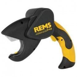Akumuliatorinės plastiko karpymo žirklės REMS Akku-ROS P 40