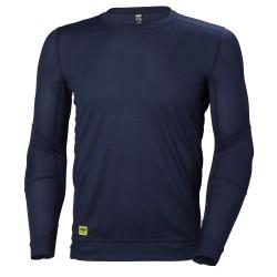 Apatiniai marškinėliai HELLY HANSEN Lifa Crewneck, t. mėlyni