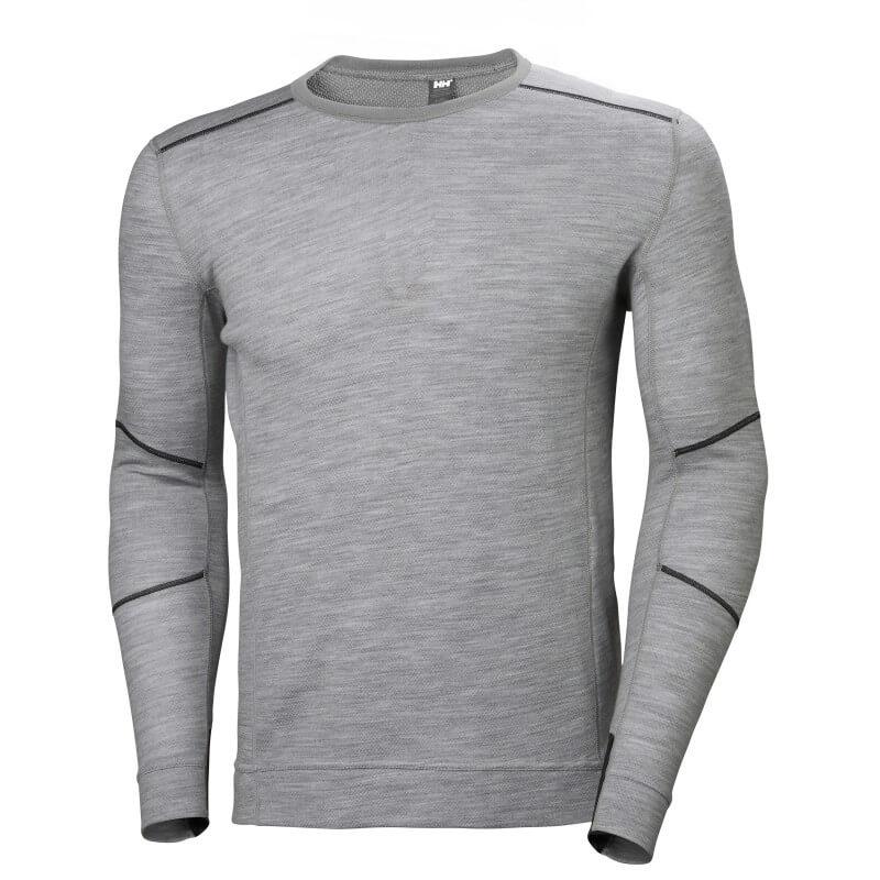 Apatiniai marškinėliai HELLY HANSEN HH Lifa Merino Crewneck, pilki