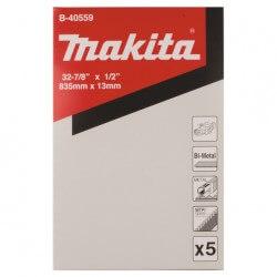Pjovimo juosta metalui MAKITA 13x835 mm, 18tpi, 5 vnt.