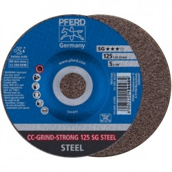 Šlifavimo diskas PFERD CC-Grind-Strong 125 SG Steel