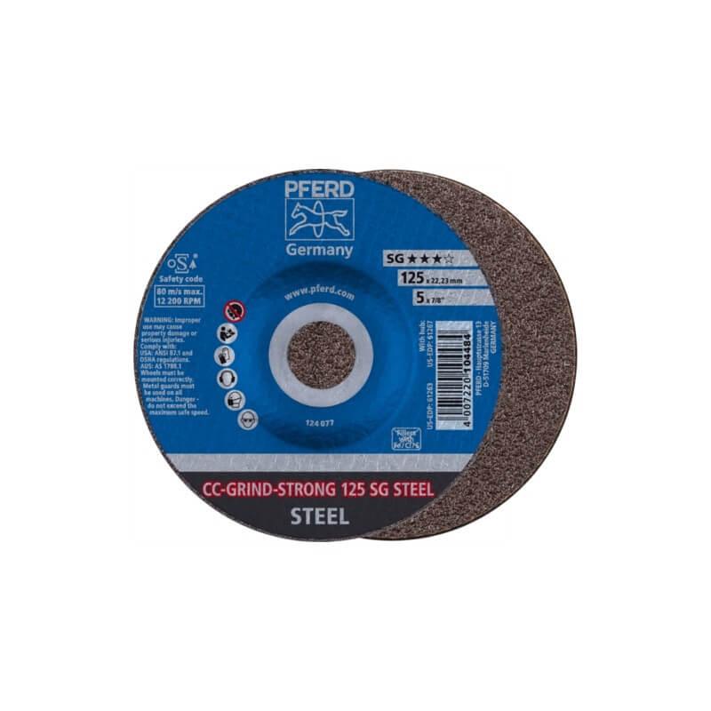 Šlifavimo diskas PFERD CC-Grind-Strong 125 SG Steel
