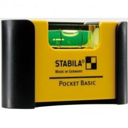 Gulsčiukas su dėklu STABILA 101 POCKET Basic