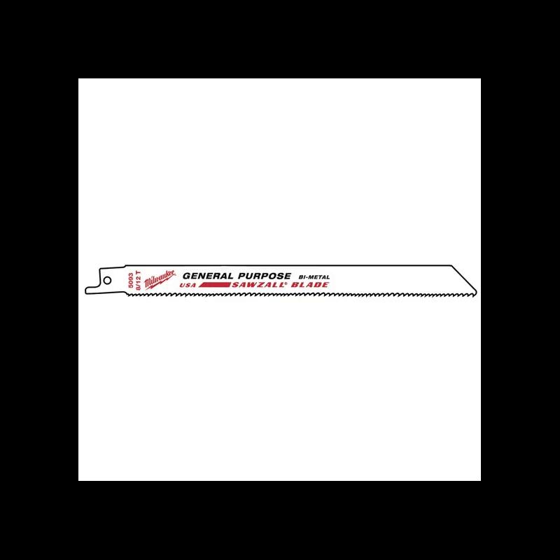 Universalus pjūklelis MILWAUKEE 200x8/12 Tpi