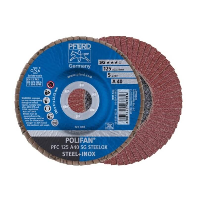Šlifavimo diskas PFC125 A SG PFERD