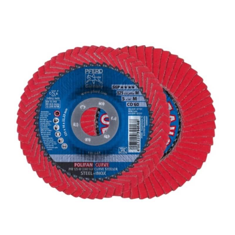 Šlifavimo diskas PFERD PFR125 CO60 SGP-CURVE M