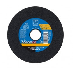 Nerūd. plieno pjovimo diskas PFERD EHT 125x1,6mm A46 P PSF-INOX