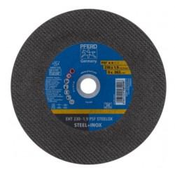 Nerūd. plieno pjovimo diskas PFERD EHT 230x1,9mm A46 P PSF-INOX