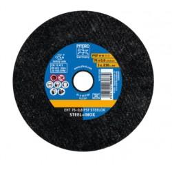 Metalo pjovimo diskas PFERD EHT76-0,8 A60 P PSF-INOX