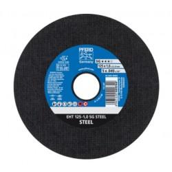 Metalo pjovimo diskas juodam metalui PFERD EHT Ø125x1,0mm A60S SG